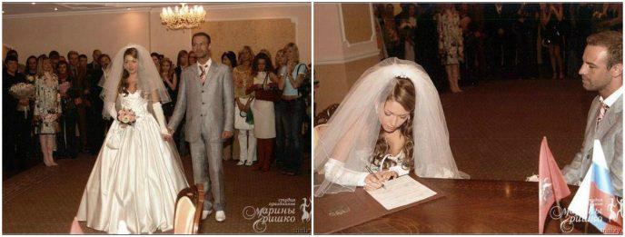 Красивые снимки красивых свадеб знаменитостей