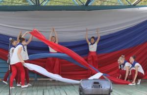 Тольятти отпраздновал День Российского флага