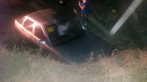 В Нефтегорском районе нетрезвая автомобилистка на «десятке» улетела в кювет
