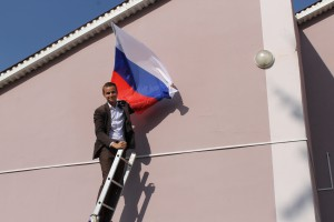 В День российского флага самарские активисты ОНФ провели патриотические акции
