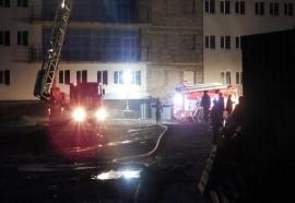На ул. Георгия Димитрова в Самаре горело бытовое помещение