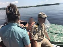 В Тольятти в акватории Волги граждане были проверены на наличие задолженностей