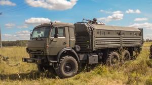 Спецназ в Самарской области получил на вооружение капсульные бронеавтомобили «КАМАЗ»