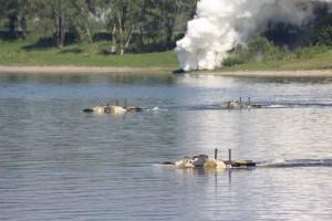 Под Самарой гости форума «Армия-2017» смогут увидеть форсирование бронетранспортерами водной преграды