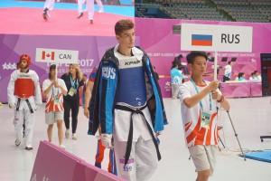 Тхэквондист Самарской области выиграл золотую медаль Всемирной летней Универсиады
