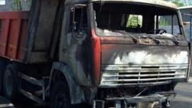 На 9-ой просеке в Самаре горел КАМАЗ