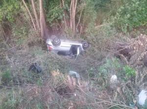 В Самаре на Николаевском проспекте перевернулся «Peugeot-307», погиб пассажир автомобиля