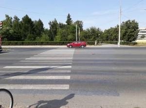 В Тольятти водитель  «Lada Granta» сбил 12-летнего велосипедиста с 10-летним пассажиром