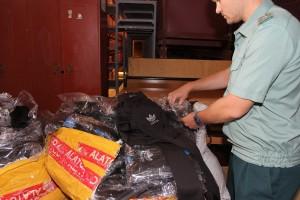 Самарские таможенники изъяли контрафактную продукцию из Кыргызстана