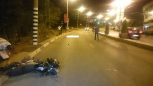 В Октябрьском районе Самары в ДТП погиб мотоциклист