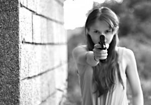 В тольяттинскую журналистку несколько раз стреляли «на собственном заднем дворе»