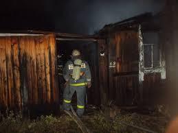 На Московском шоссе в Самаре сгорел дачный дом