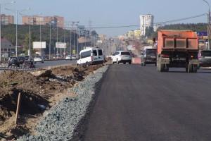 В Самаре завершили укладку асфальта на пересечении Волжского и Московского шоссе