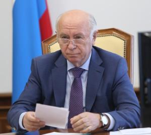 Николай Меркушкин   пригласил Дмитрия Медведева посетить школу будущего в Южном городе
