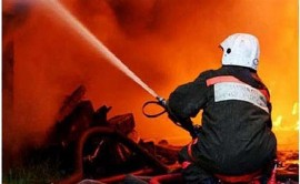 В Хворостянке ночью сгорело 60 кв. метров сараев