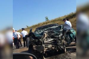 В Самарской области двое погибли в ДТП при столкновении легковушек