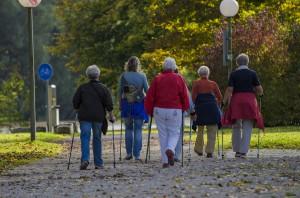 В Самаре всех желающих приглашают на бесплатные тренировки по скандинавской ходьбе