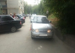 В Сызрани в двух ДТП пострадали два ребенка