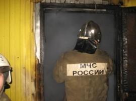 В Самаре горели полы в строящемся доме