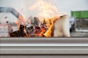 В Крутых Ключах сгорела вместе с книгами одна из трёх уличных библиотек