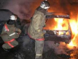 На проспекте Кирова в Самаре сгорел автомобиль
