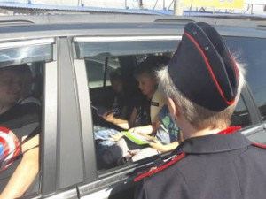 Сотрудники самарской Госавтоинспекции проводят спецрейды «Детское удерживающее устройство»