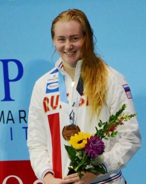 Спортсменка ЦСКА/Самара выиграла «серебро» и «бронзу» на первенстве мира по плаванию в Индианаполисе