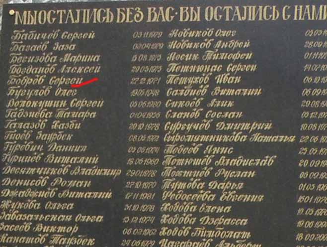 Сегодня 15-я годовщина гибели Сергея Бодрова со съемочной группой