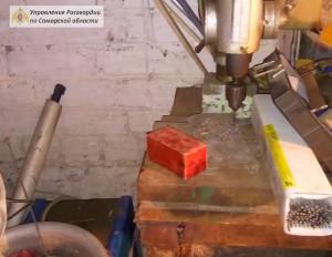 В Самарской области ОМОН Росгвардии изъял тротиловую шашку