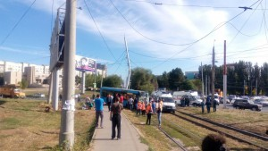 В Самаре произошло ДТП с рейсовым автобусом, пострадали 7 человек