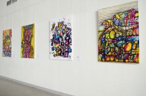 В аэропорту Курумоч открылась персональная выставка самарской художницы