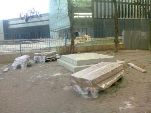 В Самаре началась установка памятника белочехам