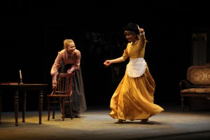 В день открытия фестиваля «Волга театральная» зрители смогли насладиться спектаклем «Вишневый сад»