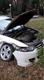 В Автозаводском районе Тольятти иномарка Honda  врезалась в Лада-2114