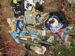 Найден крупный схрон оружия убийц самарского бизнесмена Винокурова