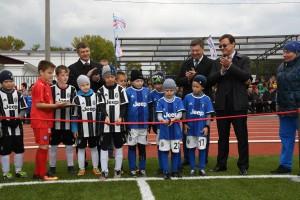 Дмитрий Азаров принял участие в торжественном открытии стадиона «Нефтяник» в Самаре