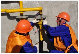 В Чапаевске  восстановлено газоснабжение
