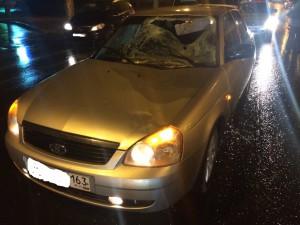 В Самаре в ДТП на проспекте Кирова погибли пешеход и водитель