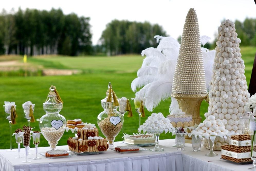 Шикарная организация свадебных торжеств