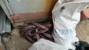 В Кинельском районе Самарской области изъяли из незаконного оборота лом цветного металла