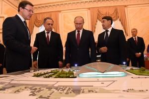 Дмитрий Азаров: «Правительству региона поставлена задача в ежедневном режиме контролировать подготовку к ЧМ-2018»