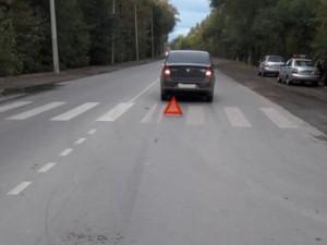 В Самаре водитель автомобиля «Renault» сбил на переходе 11-летнего мальчика