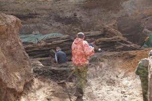 На Хлебной площади археологи ищут вторую самарскую крепость