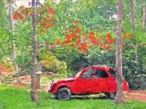 В селе Верхнее Санчелеево молодой человек из мести угнал автомобиль своего знакомого