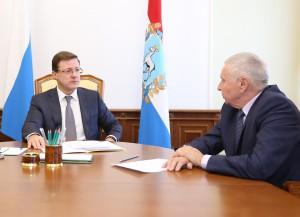 Дмитрий Азаров предложил Виктору Сойферу войти в новый состав Общественной палаты