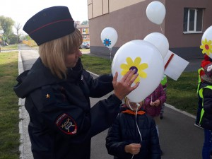 Сотрудники Госавтоинспекции Самары провели профилактическую акцию «Наш безопасный Волгарь!»