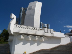 Основные работы по ремонту набережной у Ладьи в Самаре могут завершить в декабре