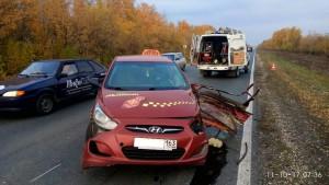 Спасатели  Тольятти проводили работы по ликвидации последствий ДТП в Ставропольском районе