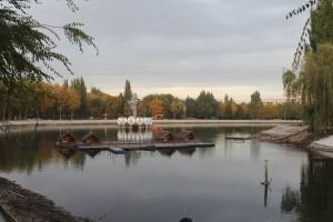 В Самаре ремонтируют парк Металлургов, завершен первый этап