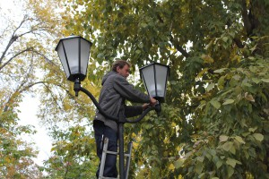 В Самаре продолжается ремонт площади Куйбышева, 4-ой очереди набережной и Струковского сада